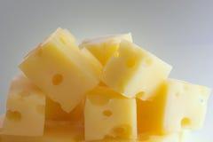 Rebanada de queso Fotografía de archivo libre de regalías