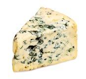 Rebanada de queso del Roquefort Imagen de archivo libre de regalías