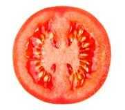 Rebanada de tomate Foto de archivo libre de regalías