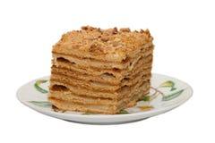 Rebanada de torta Fotografía de archivo