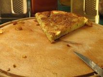 Rebanada de tortilla Fotos de archivo libres de regalías
