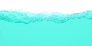 Rebanada del agua Foto de archivo libre de regalías