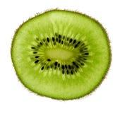 Rebanada del kiwi imagenes de archivo