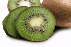 Rebanada del kiwi Foto de archivo
