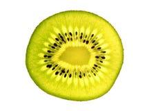 Rebanada del kiwi Fotos de archivo