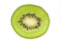 Rebanada del kiwi Fotografía de archivo
