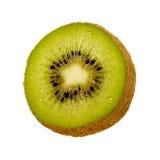 Rebanada del kiwi Imagen de archivo