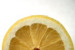 Rebanada del limón Fotografía de archivo