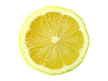Rebanada del limón Foto de archivo libre de regalías