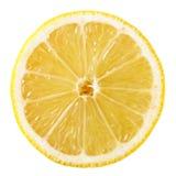 Rebanada del limón imagen de archivo