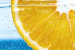 Rebanada del limón Fotos de archivo