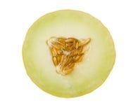 Rebanada del melón Imagen de archivo