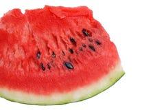 Rebanada del melón de agua Foto de archivo