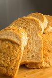 Rebanada del pan Foto de archivo libre de regalías