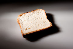 Rebanada del pan blanco Foto de archivo