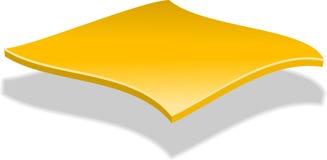 Rebanada del queso Imagen de archivo libre de regalías