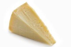 Rebanada del queso de parmesano Imagen de archivo libre de regalías