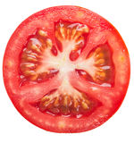 Rebanada del tomate Imagenes de archivo