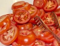 Rebanada del tomate Imagen de archivo libre de regalías