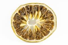 Rebanada desecada de la fruta cítrica Foto de archivo libre de regalías
