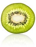 Rebanada fresca del kiwi Fotos de archivo