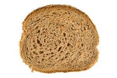 Rebanada fresca del pan marrón Imágenes de archivo libres de regalías