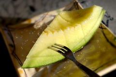 Rebanada japonesa dulce del melón Imagen de archivo libre de regalías