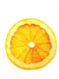 Rebanada translúcida de pomelo. Fotos de archivo