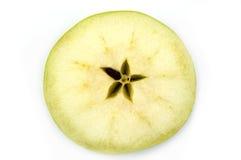 Rebanada verde de Apple Fotografía de archivo libre de regalías