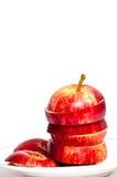 Rebanadas de Apple Imágenes de archivo libres de regalías