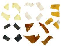 Rebanadas de cinta adhesiva Foto de archivo