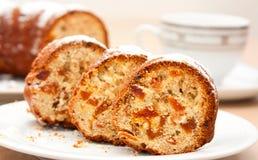 Rebanadas de empanada Imagen de archivo libre de regalías