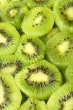 Rebanadas de fruta de kiwi Fotografía de archivo