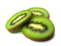 Rebanadas de kiwi Fotografía de archivo