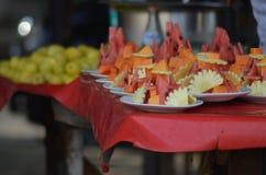 Rebanadas de la fruta Imagen de archivo