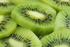 Rebanadas de la fruta de kiwi Imagen de archivo libre de regalías
