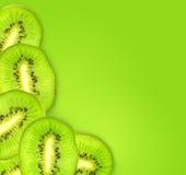 Rebanadas de la fruta de kiwi Foto de archivo