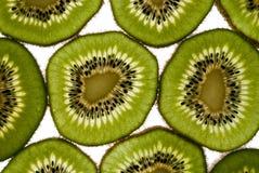 Rebanadas de la fruta de kiwi Foto de archivo libre de regalías