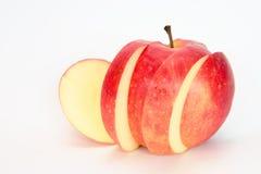 Rebanadas de manzana fotografía de archivo