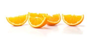 Rebanadas de naranja Fotos de archivo