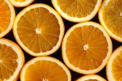 Rebanadas de naranjas Imagen de archivo