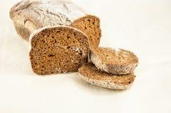 Rebanadas de pan Foto de archivo libre de regalías