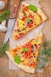 Rebanadas de pizza Fotografía de archivo