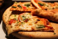 Rebanadas de pizza Fotografía de archivo libre de regalías