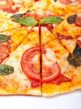 Rebanadas de pizza fotos de archivo