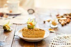 Rebanadas de torta Fotografía de archivo libre de regalías