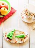 Rebanadas de torta Fotos de archivo