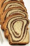 Rebanadas de torta tradicional - cozonac Imagen de archivo