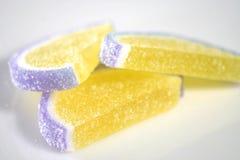 Rebanadas del azúcar Fotos de archivo