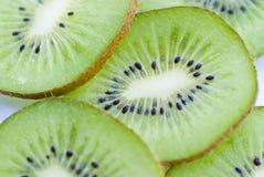 Rebanadas del kiwi Fotografía de archivo libre de regalías